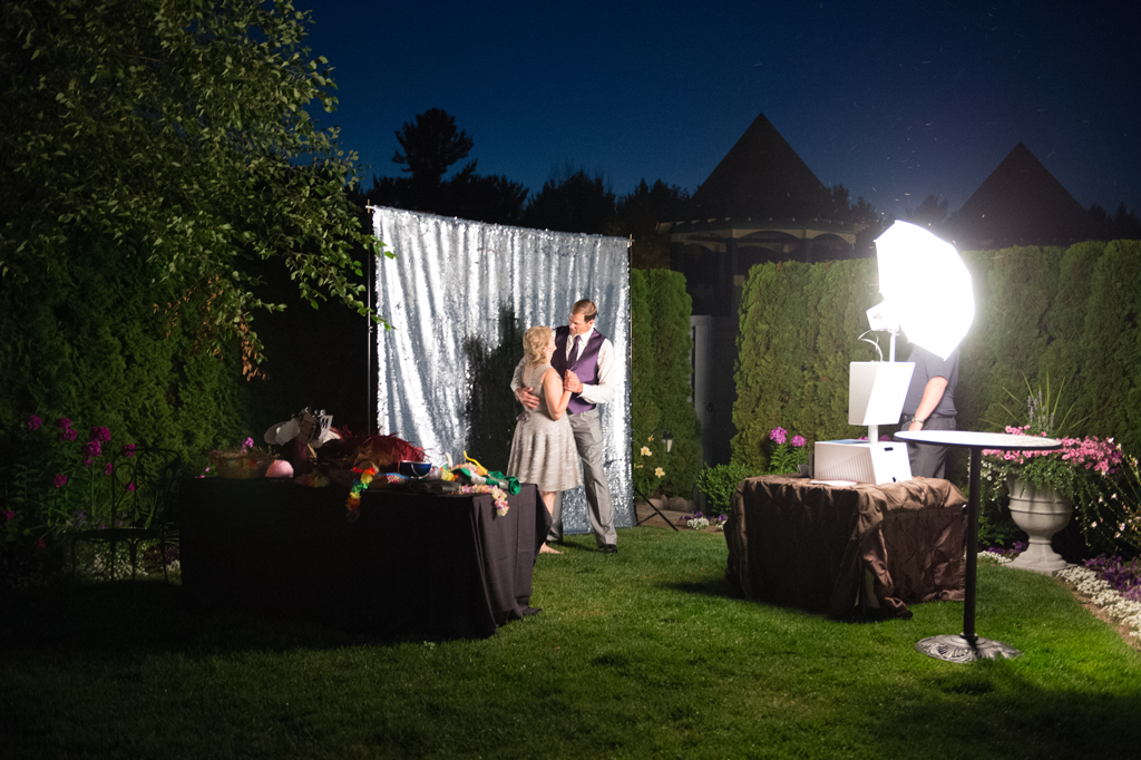 Open air photo booth rental for special events